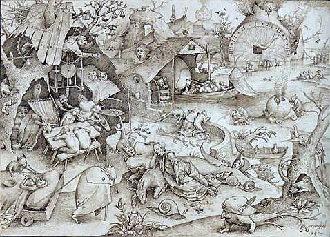 Pieter Bruegel the Elder, Greed