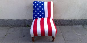 usa empty chair